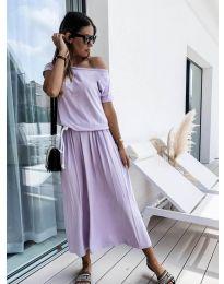 Šaty - kód 4151 - světle fialová