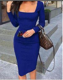Šaty - kód 3450 - modrá