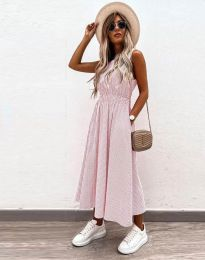 Šaty - kód 2687 - světle růžová