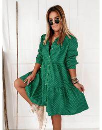 Šaty - kód 5557 - zelená