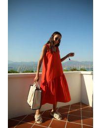Šaty - kód 8810 - červená