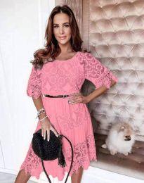 Šaty - kód 6979 - růžová