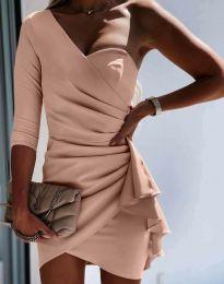 Šaty - kód 5543 - pudrová