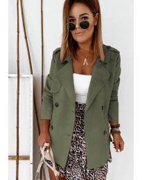 Kabát - kód 826 - olivová  zelená
