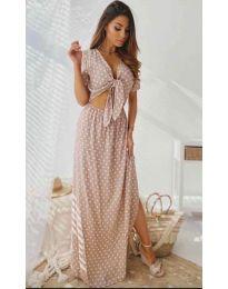 Šaty - kód 735 - růžova