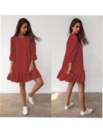 Šaty - kód 784 - hněda
