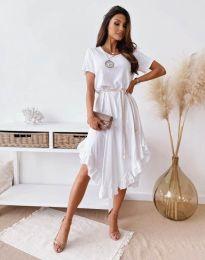 Šaty - kód 11893 - bíla