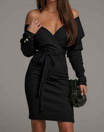 Šaty - kód 4765 - černá