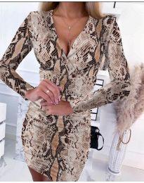 Šaty - kód 6465 - 4 - vícebarevné
