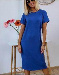 Šaty - kód 81800 - 1 - modrá