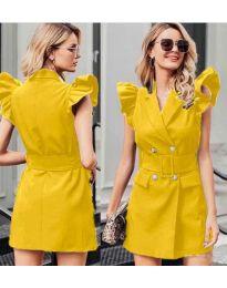 Šaty - kód 311 - žlutá