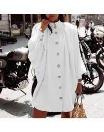 Šaty - kód 0899 - bílá