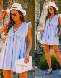 Šaty - kód 7141 - světle modrá