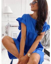 Šaty - kód 3145 - modrý