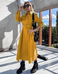Šaty - kód 1467 - hořčičná