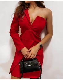 Šaty - kód 7128 - červená