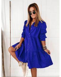 Šaty - kód 5557 - tmavě modrá