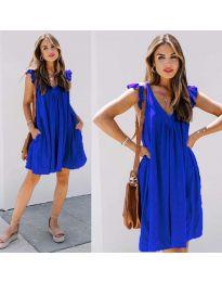 Šaty - kód 5090 - tmavě modrá