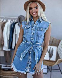 Šaty - kód 3699 - 1 - modrá