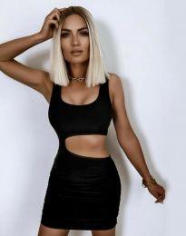 Šaty - kód 12001 - černá