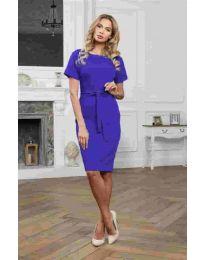 Šaty - kód 3698 - tmavě modrá