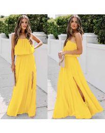 Šaty - kód 061 - žlutá