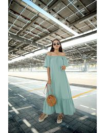 Šaty - kód 3636 - mentolová