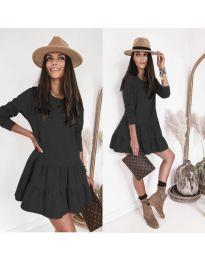 Šaty - kód 8486 - černá