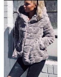 Kabát - kód 9202 - šedá