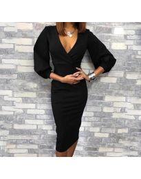 Šaty - kód 8706 - 1 - černá