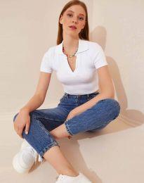 Tričko - kód 13033 - bíla