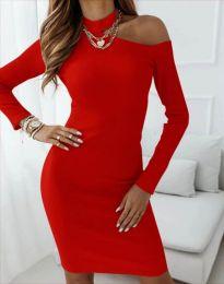 Šaty - kód 4859 - červená