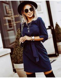 Šaty - kód 6100 - tmavě modrá