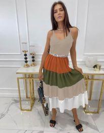 Šaty - kód 3392 - vícebarevné