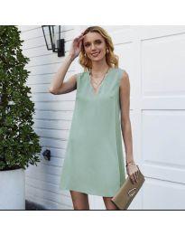 Šaty - kód 1429 - světle zelená