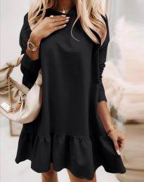Šaty - kód 9376 - černá