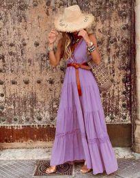 Šaty - kód 0817 - fialová