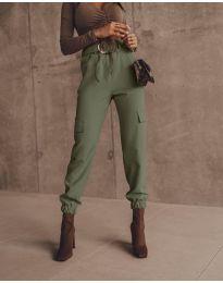 Kalhoty - kód 2985 - olivově zelená