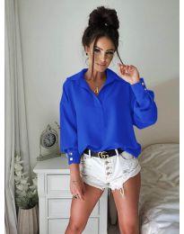 Košile - kód 9898 - modrý