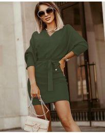 Šaty - kód 9876 - zelená
