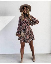 Šaty - kód 248 - 2 - vícebarevné