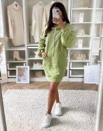 Šaty - kód 2949 - zelená