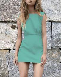 Šaty - kód 1233 - tyrkysový
