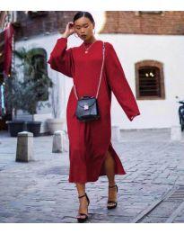 Šaty - kód 5501 - bordeaux