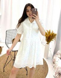Šaty - kód 0517 - 1 - bíla