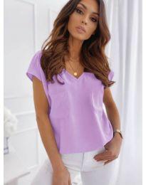 Tričko - kód 920 - fialová
