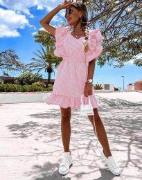 Šaty - kód 2657 - 6 - růžová