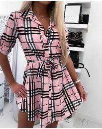 Šaty - kód 859 - růžova