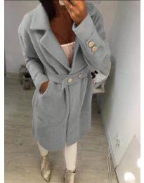 Kabát - kód 806 - šedá