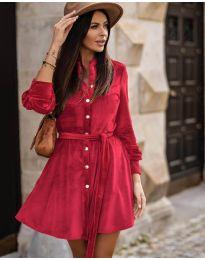 Šaty - kód 3999 - červená